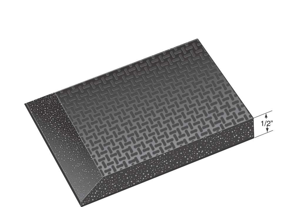 Static Dissipative Smooth Anti-Fatigue Mats