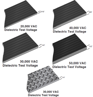 Astm Switchboard Rubber Insulating Mats