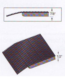 Corrugated Contract Duty Anti-Fatigue Mat