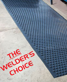 Tritan Ultra-Dome® Rolls Anti-Fatigue Welding Mat