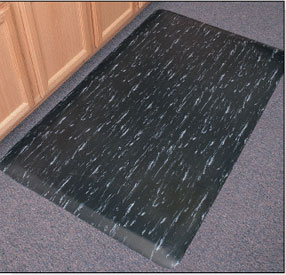 Anti Fatigue Mats Marbleized Tile Top™ Marbleized Anti Fatigue Floor Mats